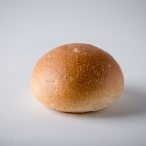 White Burger Bun